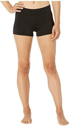 Bloch Basic Shorts (Black) Women's Shorts