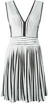 Just Cavalli flared stripe dress
