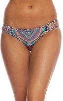 Red Carter Tribal Daze Reversible Classic Bikini Bottom 8156671