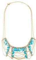 Alexis Bittar Howlite Bib Necklace