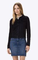 J Brand Ethel Jacket in Black Iris
