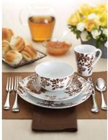 Paula Deen Tatnall Street Brown 16-Piece Dinnerware Set