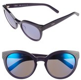 Chloé 'Boxwood' 54mm Round Sunglasses