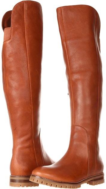 Cole Haan Estella Over the Knee Boot Waterproof (Sequoia) - Footwear