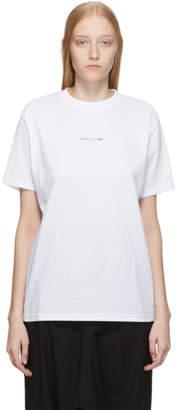 Alyx White Logo Visual T-Shirt
