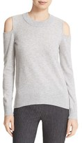 Veronica Beard Women's Cold Shoulder Cashmere Sweater
