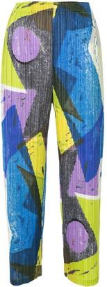 Pleats Please Issey Miyake Swing trousers
