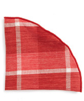Alexander Olch Plaid Pocket Round