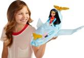 DC Super Hero Girls Wonder Woman Doll & Invisible Jet
