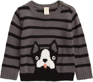 Tucker + Tate Stripe Pup Sweater