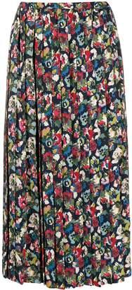 Junya Watanabe midi pleated skirt