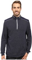 Bugatchi Cosmo Long Sleeve 1/4 Zip Knit Shirt