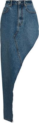 Alexander Wang Asymmetric Denim Skirt