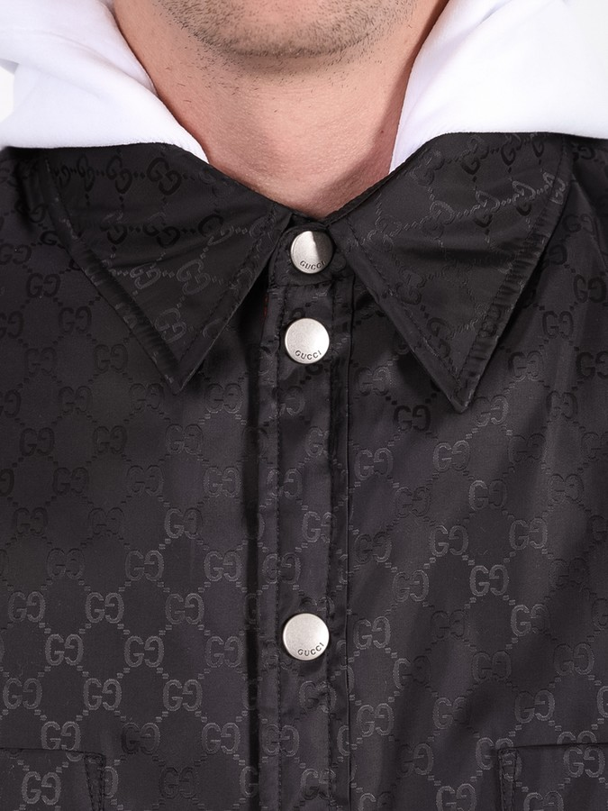 Thumbnail for your product : Gucci Gg Logo Gilet Black