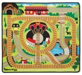 Melissa & Doug Round the Rails Train Play Rug