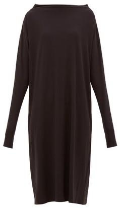 Norma Kamali All In One Multiway Jersey Dress - Womens - Black