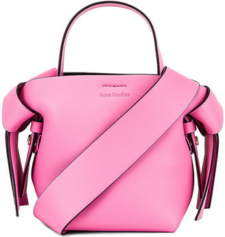 Acne Studios Musubi Micro Bag in Pink & Black | FWRD