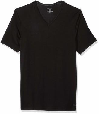 Calvin Klein Men's Ultra Soft Modal V Neck T-Shirts