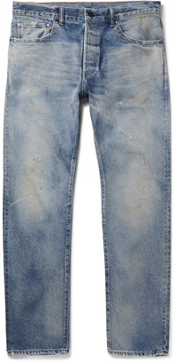 John Elliott The Cane 2 Distressed Denim Jeans