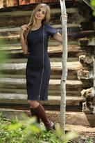 Shabby Apple Clara Sheath Dress Blue