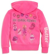 Butter Shoes Girls' Ice Cream Shoppe Hoodie - Sizes 4-6