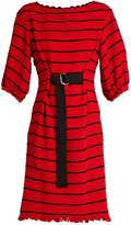 Sonia Rykiel Striped cotton-blend tweed dress