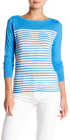 J.Crew Factory J. Crew Factory Striped Slub Knit Boatneck Tee
