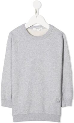Bonpoint Embroidered Cherry Sweatshirt