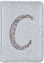 Accessorize Glitter C Alphabet Passport Holder