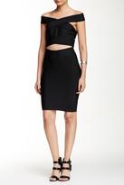 Wow Couture 2-Piece Off Shoulder Bandage Dress