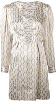 Isabel Marant printed dress - women - Silk - 38