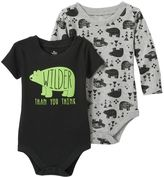 Baby Starters Baby Boy 2-pk. Bear Bodysuits