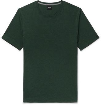 HUGO BOSS Slim-Fit Cotton-Jersey T-Shirt