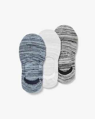 Express 3 Pack Space Dye No-Show Socks