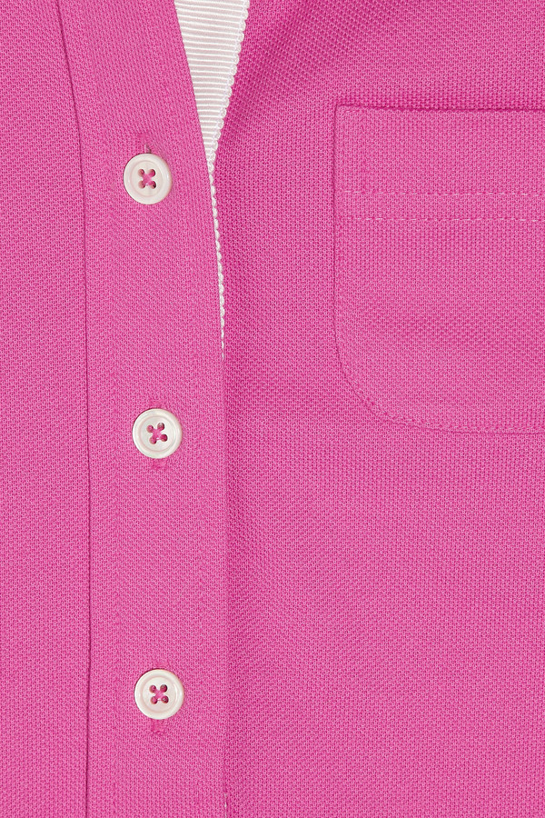 Black Fleece Piqué cotton polo shirt