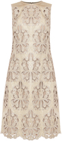 Erdem Brenton Laser Cut Dress