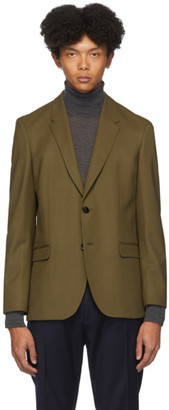 HUGO BOSS Khaki Wool Herman194 Blazer