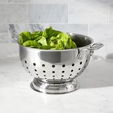 Crate & Barrel All-Clad ® 3-Qt. Stainless Steel Colander