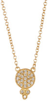 Freida Rothman 14K Gold Plated Sterling Silver Metropolitan CZ Pendant Necklace