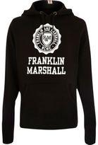 River Island MensBlack Franklin & Marshall print hoodie