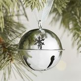 Pier 1 Imports Silver Jingle Bell Ornament
