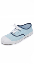 Bensimon Tennis Bleached Denim Sneakers