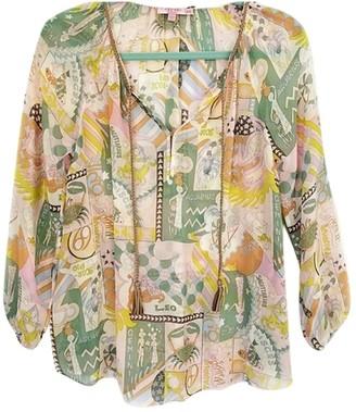 Calypso St. Barth Multicolour Silk Top for Women