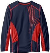 Fila Big Boys' Classic Printed Performance Top