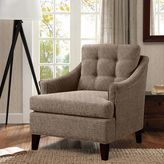 Bed Bath & Beyond Charleston Chair in Grey Fabric