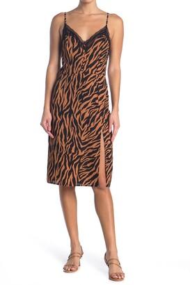 re:named apparel Belina Lace Midi Slip Dress