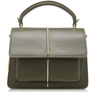 Marni Attache Mini Leather Top Handle Bag