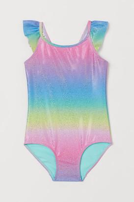 H&M Shimmering swimsuit