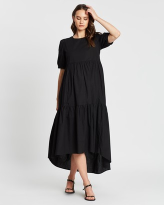 Atmos & Here Emma Tiered Hem Dress