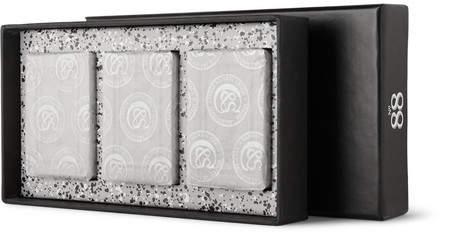 Czech & Speake Set Of Three No. 88 Hand Soaps, 3 X 75g - Black